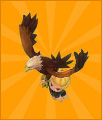 宠物鹰(达到30级领取)